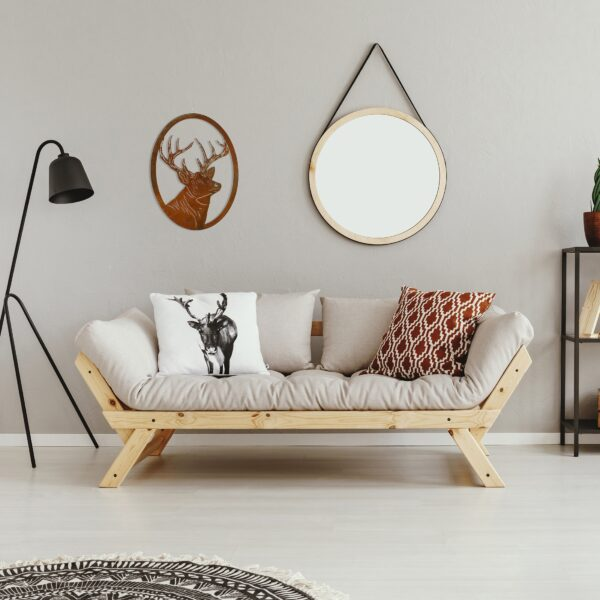 Deer-portrait-oval-rust-over-couch2