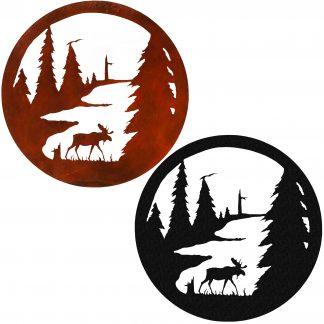 Moose-circles