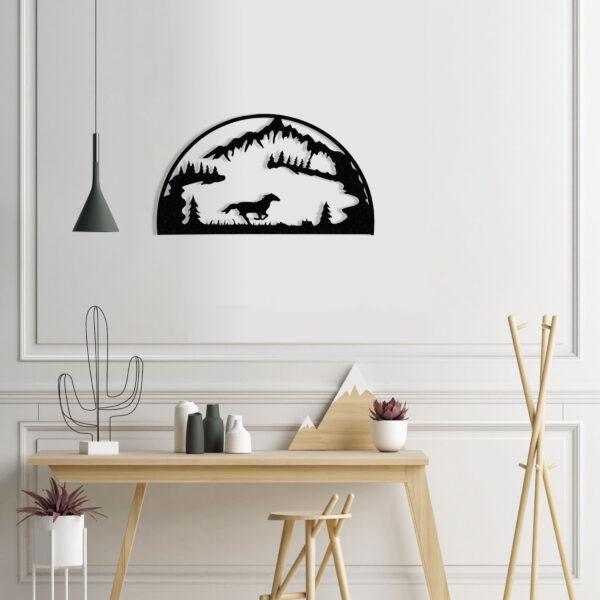 black-horse-hoop-over-desk