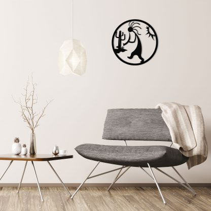 black-kokopelli-circle-over-gray-chair-1