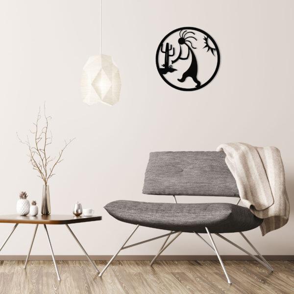 black-kokopelli-circle-over-gray-chair-1