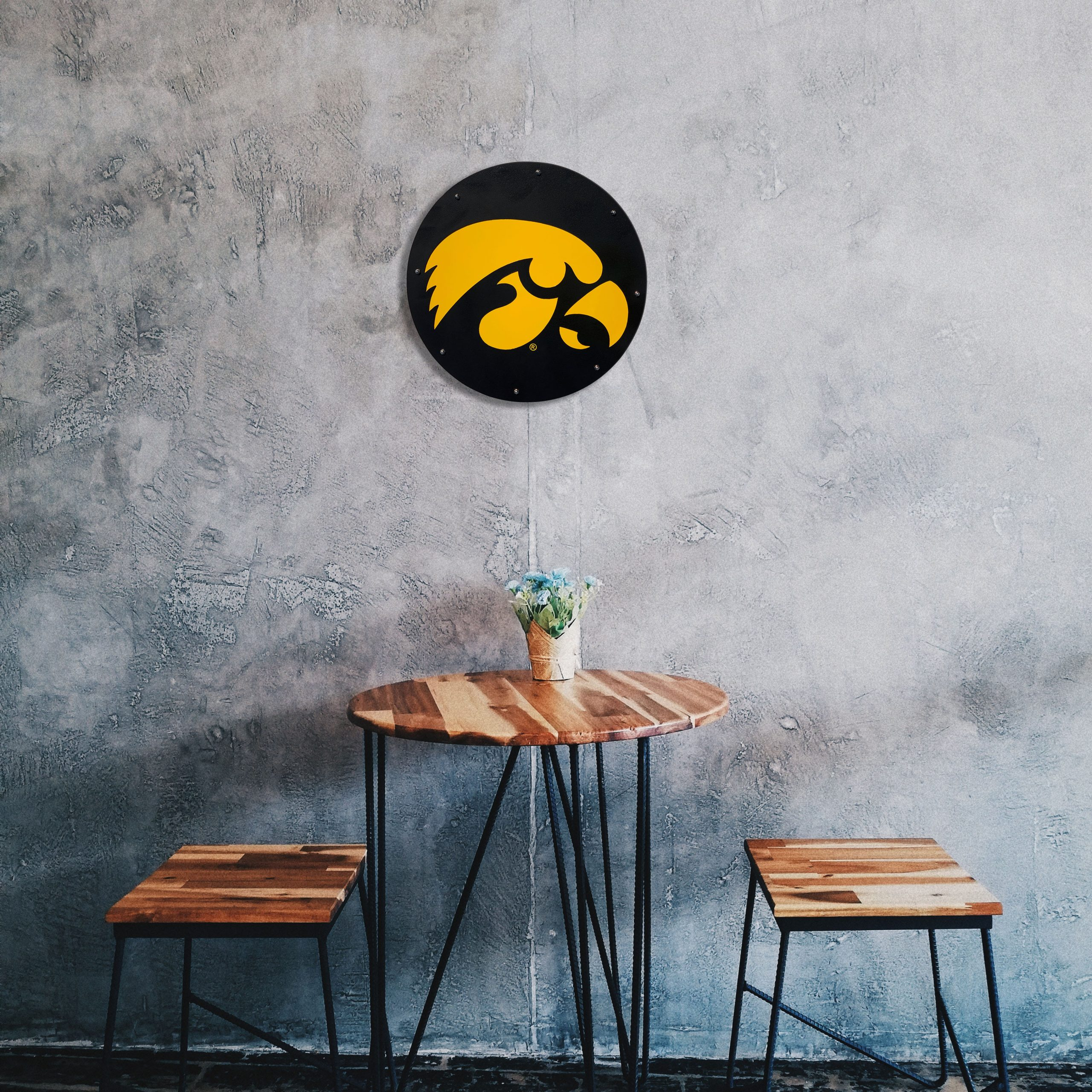 hawkeye-medallion-over-bistro-table-scaled