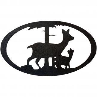 oval-deer-family-hammered-black