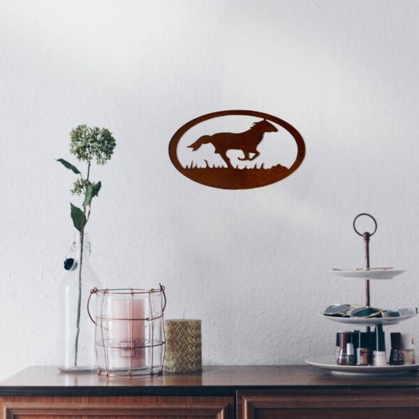 rust-horse-oval-over-makeup-table-scaled