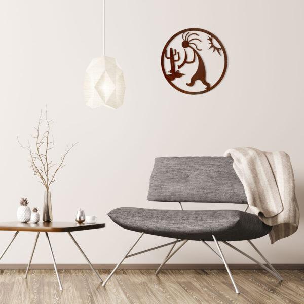 rust-kokopelli-circle-over-gray-chair-1