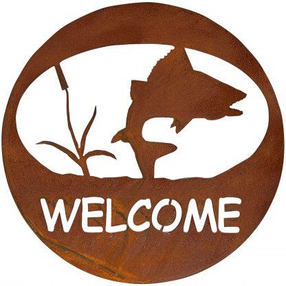 welcome-circle-turning-fish-rust