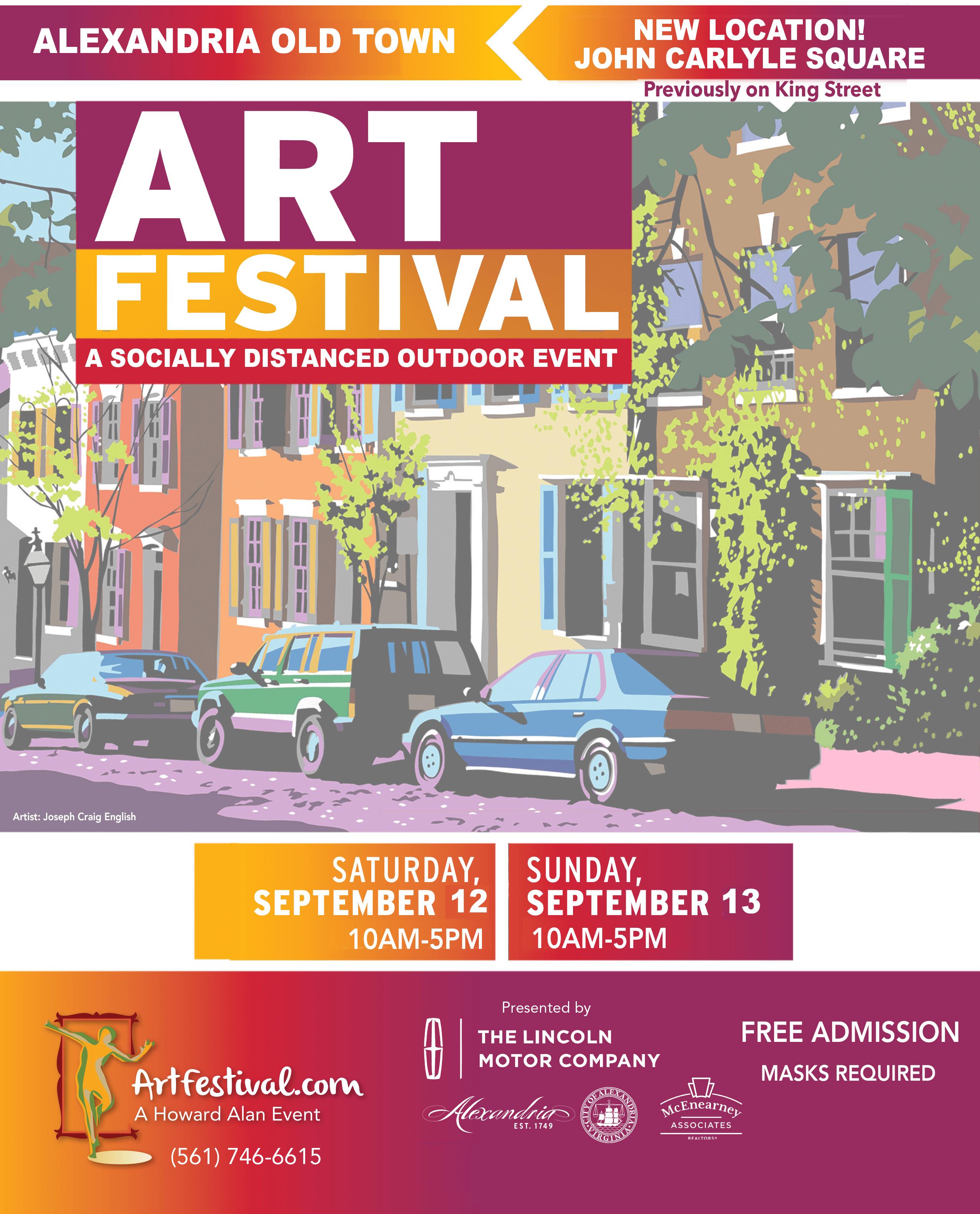 18th Annual Alexandria Old Town Art Festival