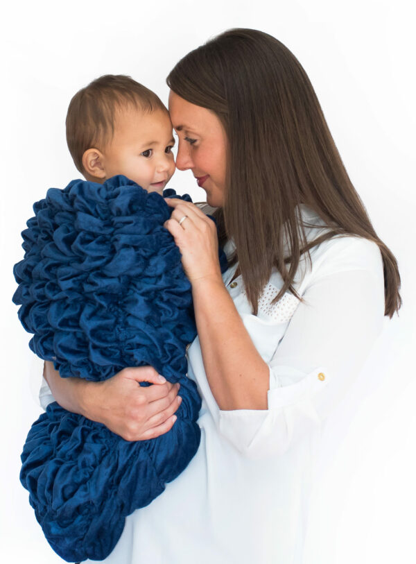 Navy Blue Baby Cocoon Swaddle Sack