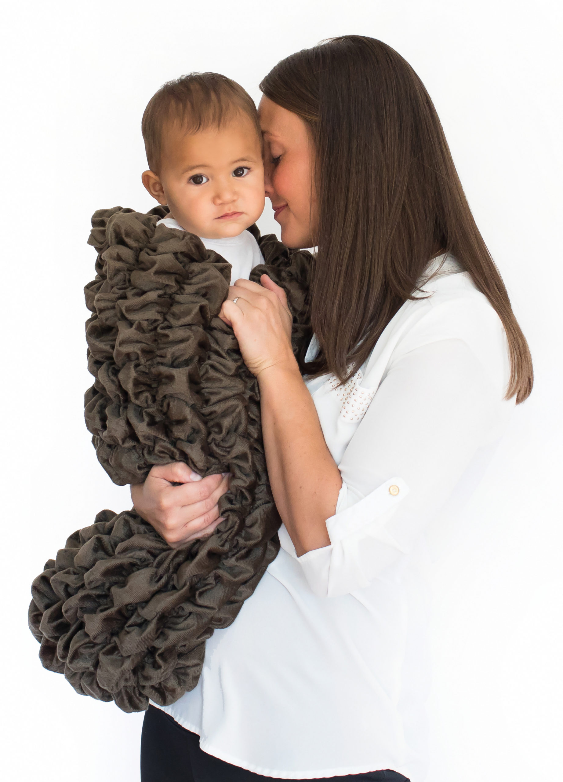 Brown Baby Cocoon Swaddle Sack