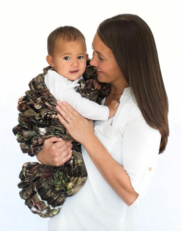 Camo Baby Cocoon Swaddle Sack
