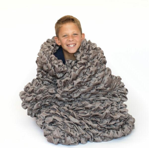 Gray Kid Sleeping Bag