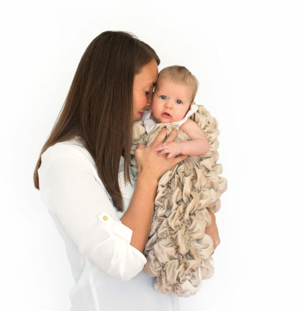 Tan Baby Cocoon Swaddle Sack