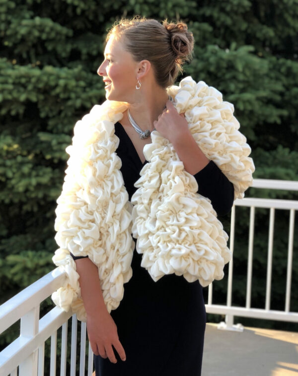 Cream Luxury Stole