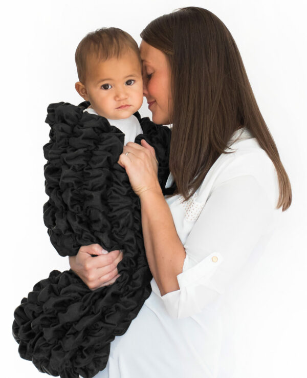 baby Cocoon Swaddle Sack Black Color