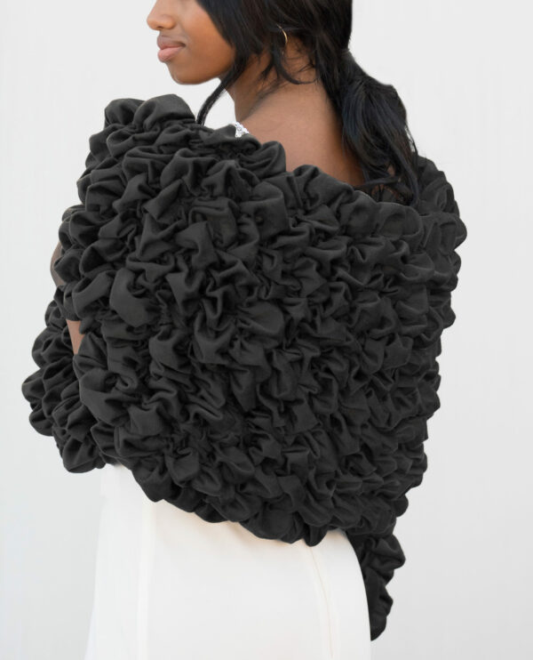 Black Tie Formal Stole for Women