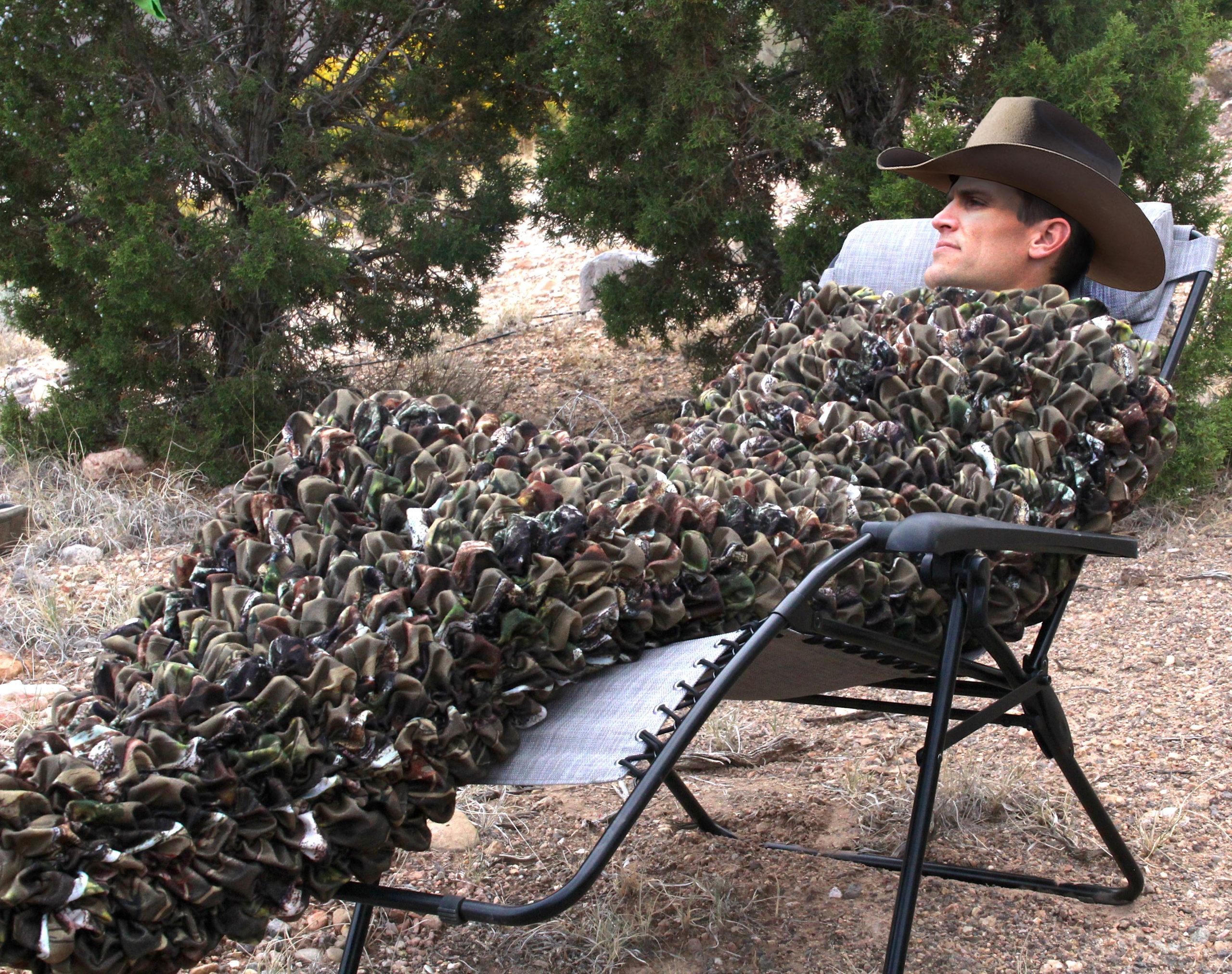 Camo Adult Cocoon Sleep Sack For Teens and Adults