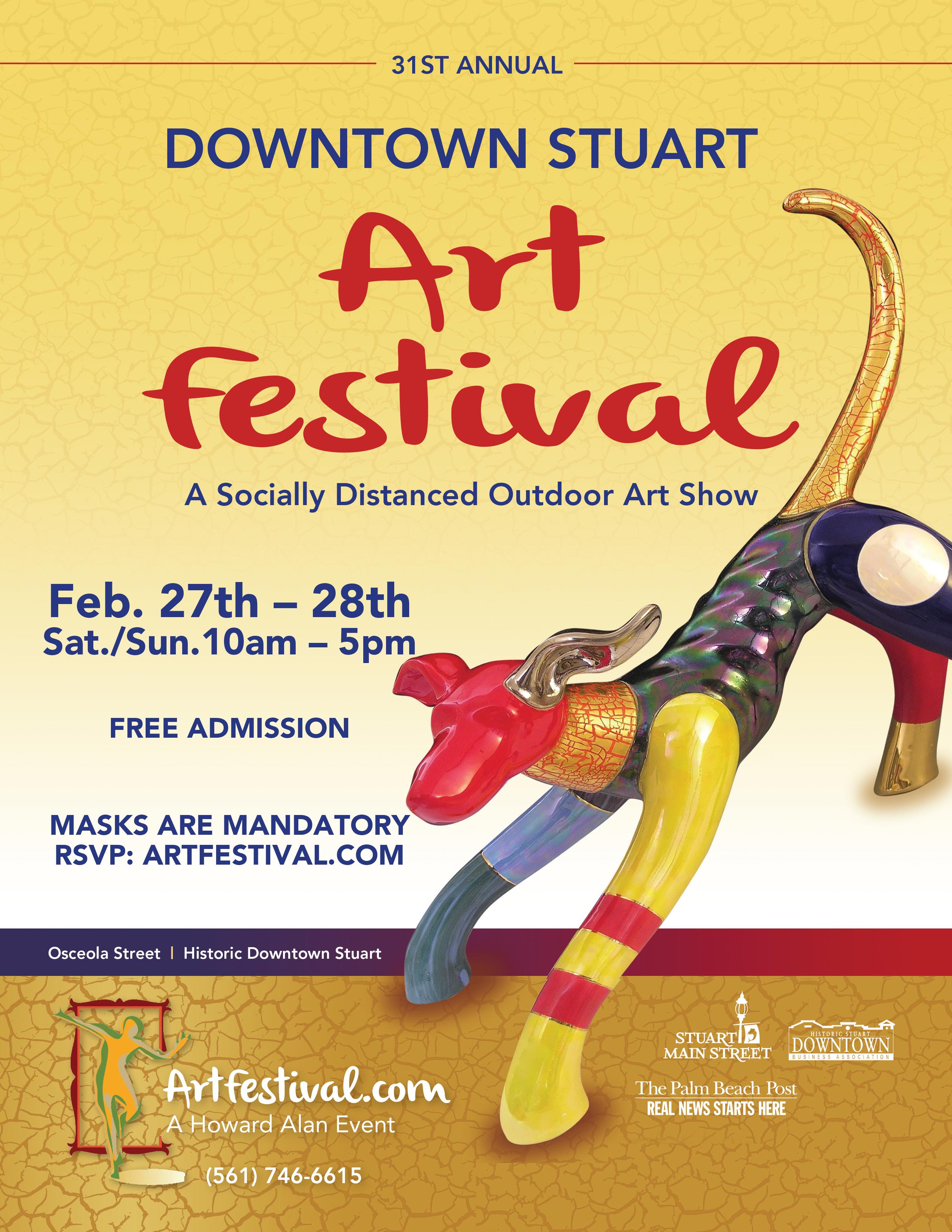 31st Annual Downtown Stuart Art Festival
