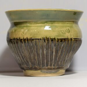 Green Textured Bowl