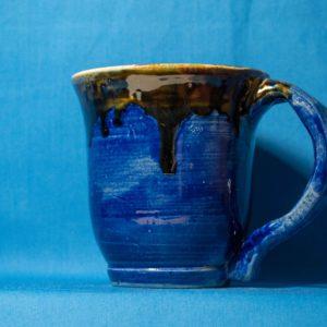 Blue with Tan Mug