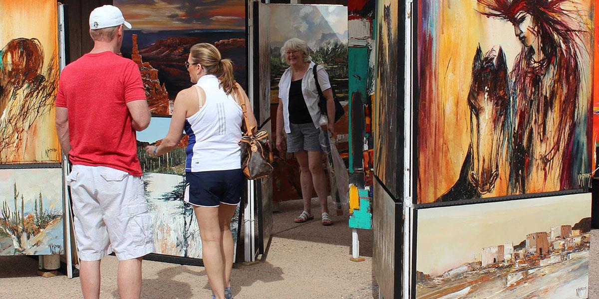 Cave Creek Fine Art Market